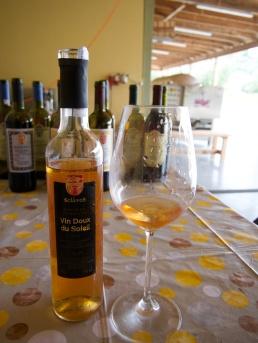 Le vin doux du soleil